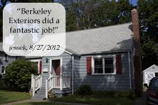 Berkeley Exteriors Testimonials