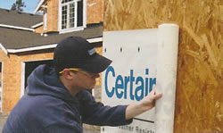 CertainTeed Siding - Housewrap