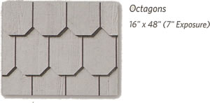weatherboards shapes octagons w text berkeley exteriors