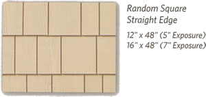 weatherboards shapes random square straight edge w text berkeley exteriors